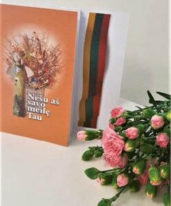 Knygoje pateikta kūryba tokia pat šviesi, kaip ir jos viršelis...