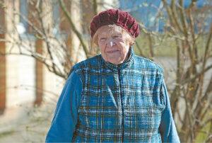 Baraginėje gyvenanti ponia Liudvika sako, kad dabar visų svarbiausias rūpestis turi būti sveikata.