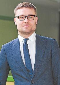 Epidemiologas Paulius Gradeckas.