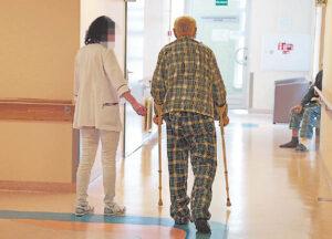 Marijampolės ligoninės pacientai išsigandę.