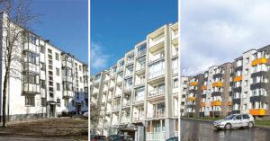 Metų renovacijos projekto laimėtojai Marijampolėje, Vilniuje ir Pabradėje. Nuotrauka iš BETA archyvo