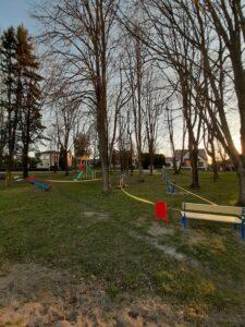 Nauja žaidimų ir sporto įranga pastatyta Sūduvos gatvėje Šunskuose.