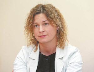 Gydytoja kardiologė Ieva Ruočkienė sako, kad konsultacijos buvo teikiamos pacientams per visą karantino laikotarpį.