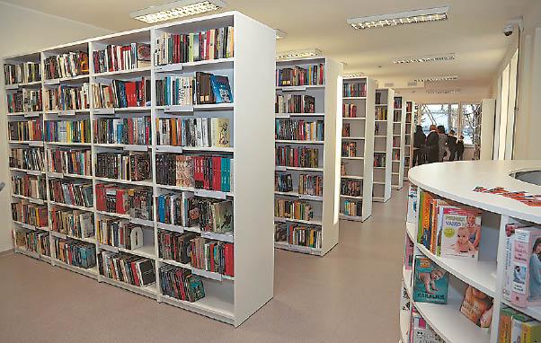 Bibliotekoje daugiau paslaugų