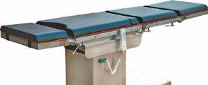 Osteopatijos procedūroms atlikti reikalingas specialus reguliuojamų padėčių stalas.
