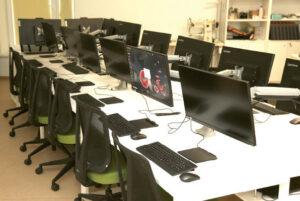 Taip atrodo LISPA mokymo klasė – modernu ir jauku.