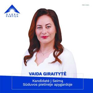 """V. Giraitytė: Kokią Lietuvą mes kuriame: """"išlaikytinių"""" ar sėkmingų žmonių valstybę?"""