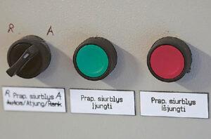 Jei prireiktų, vandens filtrai galėtų būti valomi ir mechaniniu būdu.