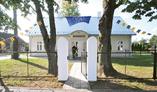 Duris atvėrę Bulotų namai – vertingas medinės architektūros paveldo objektas