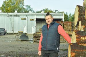 Dariaus Šypalio nuotr. Pagal profesiją kūno kultūros mokytojas Mindaugas Norgėla, Kūlupėnų kaime įkūręs medienos verslą, gamybinę bazę plės pasinaudojęs ir Lietuvos kaimo plėtros 2014–2020 m. programos parama.