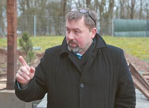 Šunskų seniūnijos seniūnas R. Lekeckas pareigūnus nori pasitelkti ir kovai su girtuokliais.