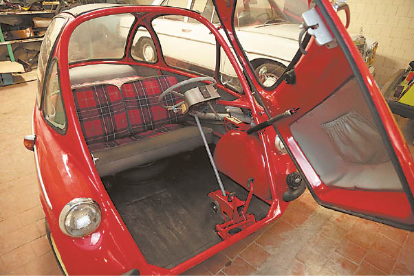 Heinkel Cabine vidus