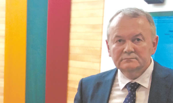 Muitinės departamento prie Lietuvos Respublikos finansų ministerijos Komunikacijos skyriaus vedėjas Vitas VOLUNGEVIČIUS