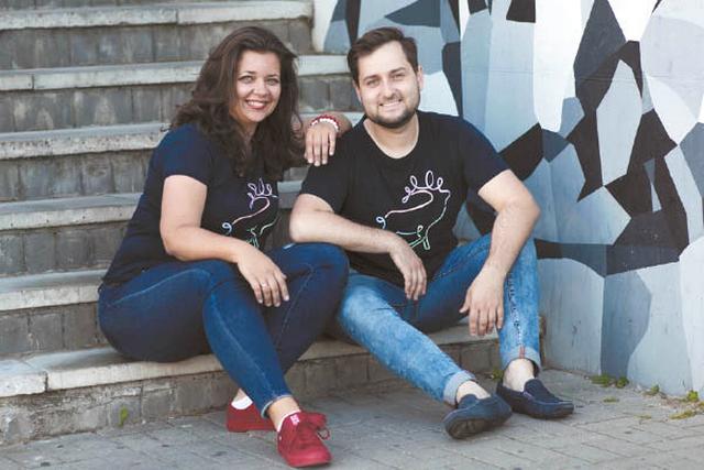 Aistė Rutkauskienė ir Vladas Polevičius dirba kartu įgyvendindami Visuomenės ir verslo plėtros instituto sumanymus.