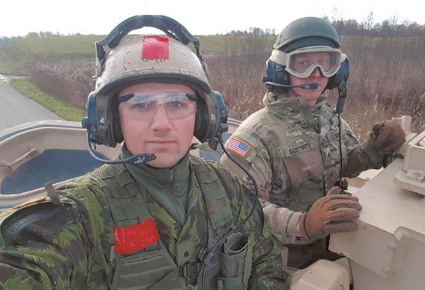 Vertinamosios lauko taktikos pratybos su JAV nacionalinės gvardijos kariais.