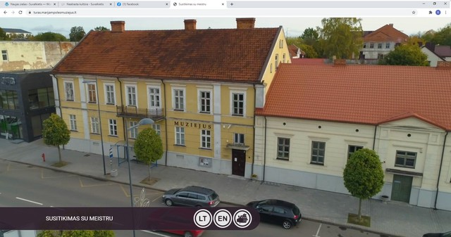Muziejus kviečia į virtualius turus