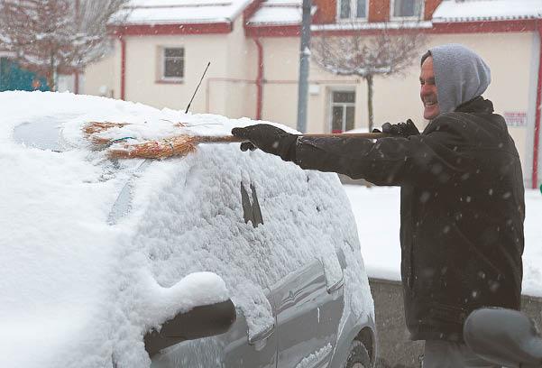 Atėjusi tikra žiema sukėlė ir rūpesčių.