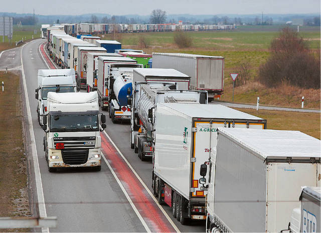 Suvalkijos regione imigrantai iš trečiųjų šalių dažniausiai įsidarbina tarptautinių reisų vairuotojais.