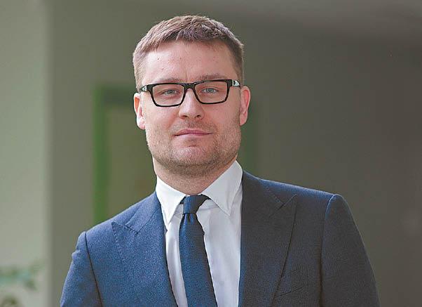 Gydytojas epidemiologas Paulius Gradeckas.