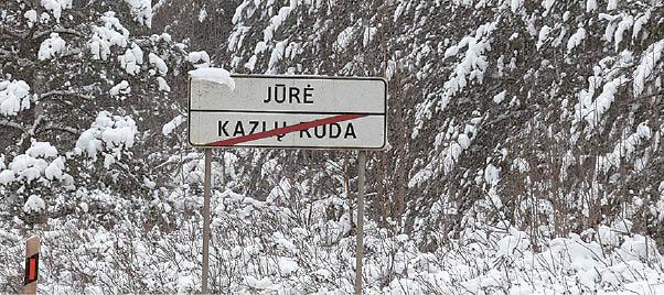 Jūrės kaimo vardas kilęs nuo netoliese tekančios Jūrės upės pavadinimo.