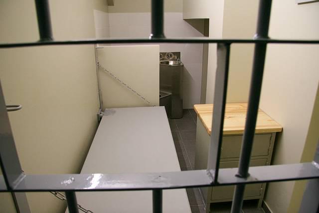 Marijampolės areštinėje dabar veikia ilgalaikio sulaikymo patalpos.