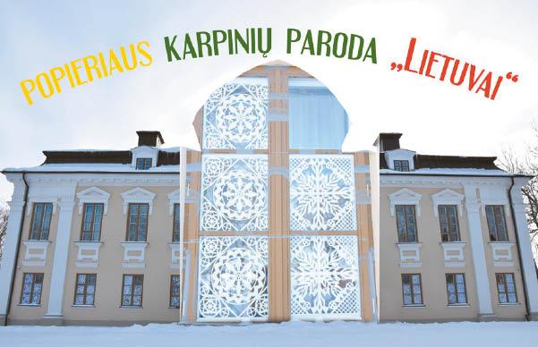 Dvaro languose – meilės Lietuvai gėlės
