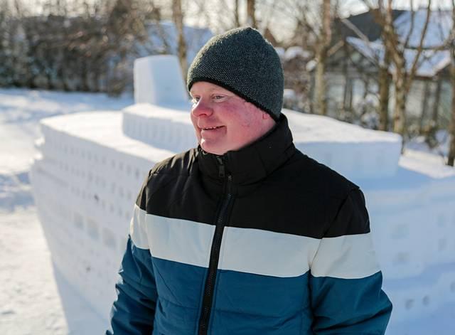 Aurimas Kilikevičius sako, kad jei kas imtųsi organizuoti sniego skulptūrų festivalį, mielai jame sudalyvautų.