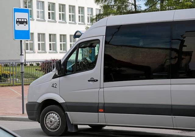 Dažniau važinės ir autobusas Nr. 21.