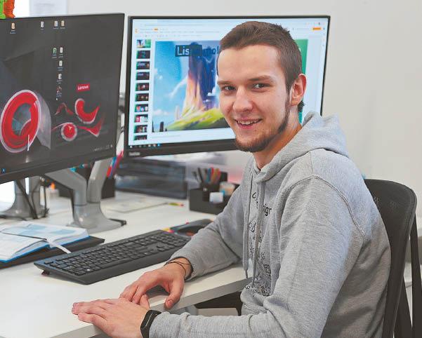 Supergalia: taip jaunas menininkas įvardijo, ką jam reiškia grafikos dizainas