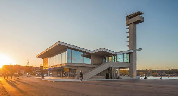 Nidos prieplaukos rekonstrukcijos projektas, sukurtas Ginto Vieversio, laimėjo daugybę apdovanojimų.