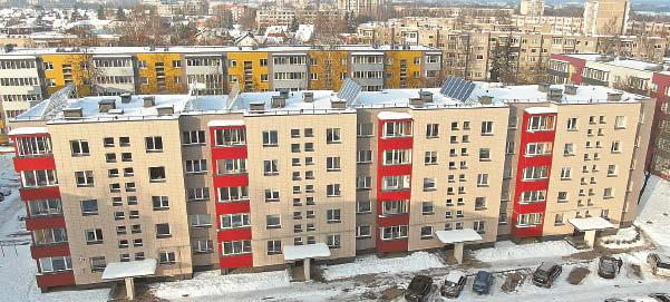 Metų renovacijos projekto rinkimuose – daugiabutis iš Marijampolės