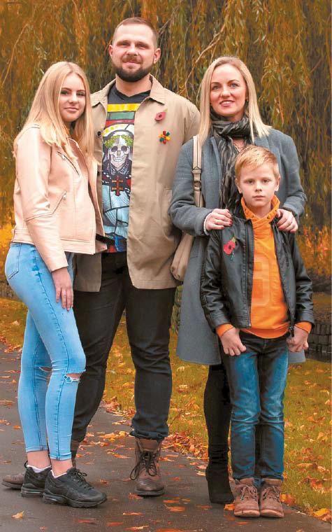 Gintaro Šimanskio žmona Simona bei sūnus Eidanas ir dukra Enrika – jau Marijampolėje. Netrukus prie jų prisijungs ir pats Gintaras, kuris jau baigia darbus Jungtinėje Karalystėje.