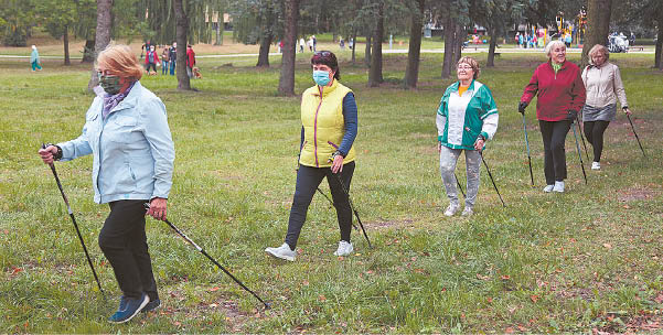 Vasarą Marijampolės visuomenės sveikatos biuras tikisi pradėti organizuoti fizinio aktyvumo užsiėmimus vyresnio amžiaus asmenims.