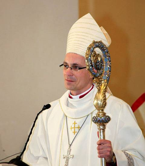 Vyskupas Arūnas Poniškaitis.