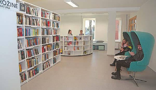 Nuotoliniu būdu pamokas lankantys moksleiviai ėmė dažniau skaityti, taip ieškodami alternatyvų ekranams.