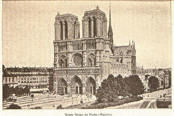 Paryžiaus katedra – J. Pranaitytės nuotrauka iš jos knygos.