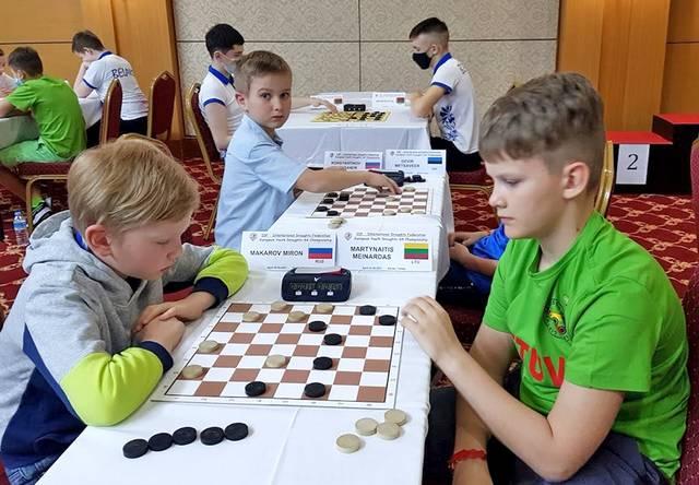 Europos čempionu tapo M. Martynaitis (dešinėje).