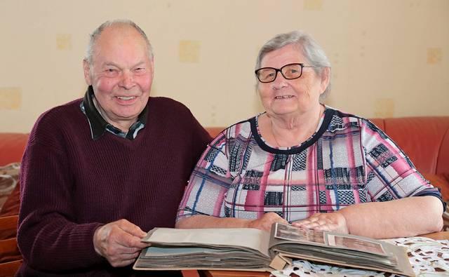Bažnyčioje palaimintoje santuokoje Vidutė ir Juozas Marcinkevičiai žengia jau į septintą bendro gyvenimo dešimtmetį.