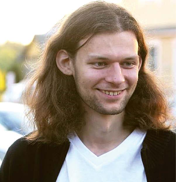 Mantas Adomaitis, Gyvybės mokslų centro mokslininkas.