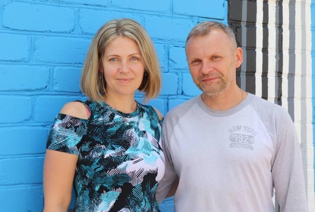 """Renata ir Linas Natkevičiai: """"Per 15 metų ryšiai su Lietuva tik sustiprėjo""""."""