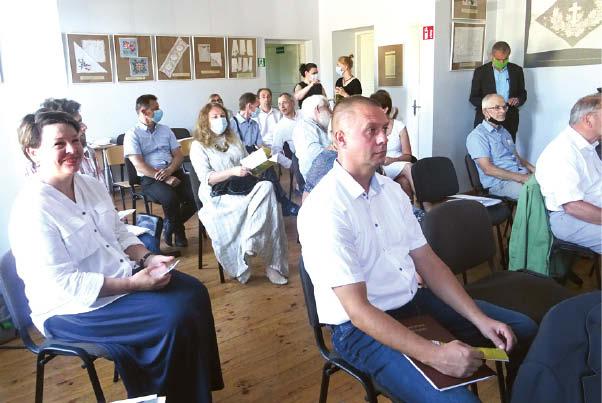 Seminaro dalyviai ir svečiai.