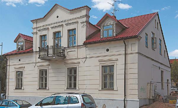 Marijampolės krašto ir Prezidento Kazio Griniaus muziejaus pastatas – paveldo objektas. Tai – istorizmo stiliaus statinys su neoklasicizmo elementais.