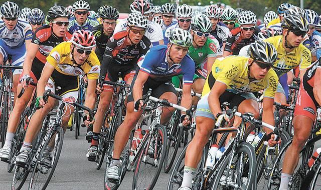 Dviratininkų lenktynės, kuriose Marijampolės komandos gali netekti pamatyti.