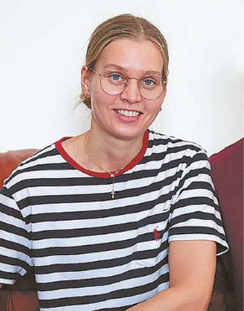 """Ugnė AMBRAZEVIČIENĖ, prekės ženklo """"Lava Flow""""  įkūrėja, odinių rankinių  bei aksesuarų kūrėja"""