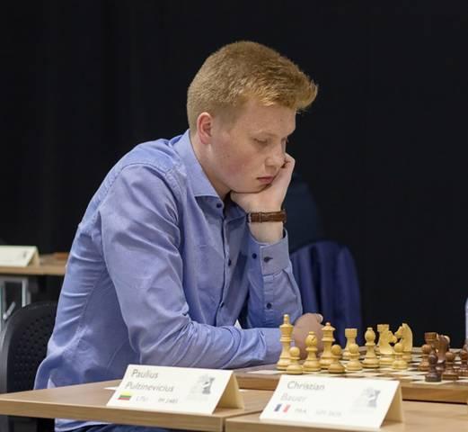 Paulius Pultinevičius ir toliau gyvenimą žada sieti su šachmatais.