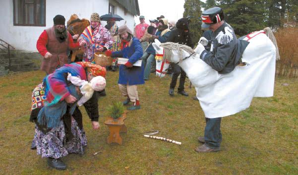 Šyvio šokdinimas – originali Gražiškių krašto tradicija. www.lt.wikipedia.org nuotrauka