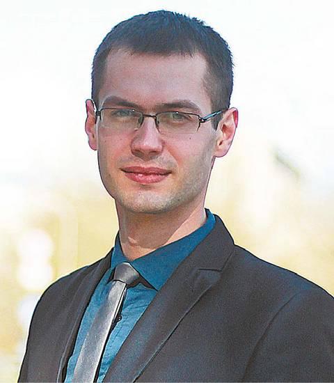 Hidrometeorologas Mantas Butrimavičius.