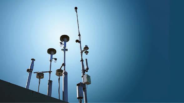 Štai kokiais oro kokybės matavimo prietaisais yra matuojama tarša.