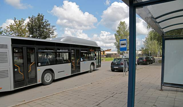 Tikimasi, kad daugės gyventojų, kurie iš savo automobilių persėstų į miesto autobusus.