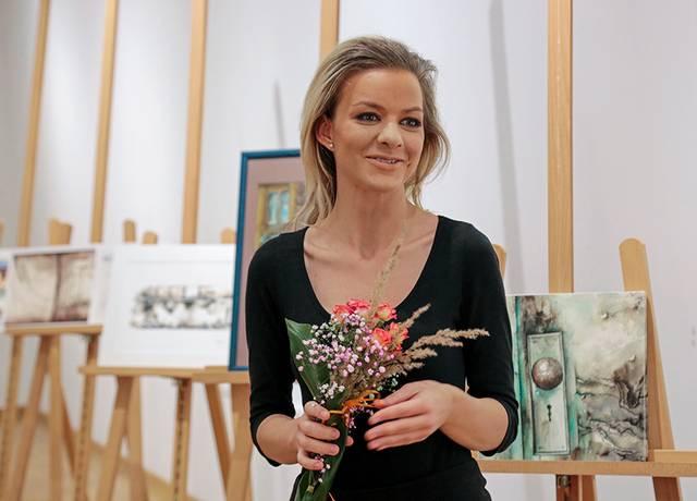 Gabrielė Venckutė sugrįžo į Marijampolę su nauja paroda.